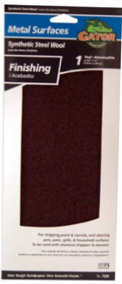 Maroon Metal Finishing Pad