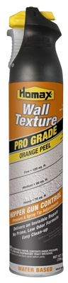Orange Peel Wall Texture Spray Paint with Dual Control, Water Based, 25-oz.
