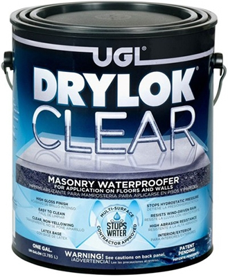 Masonry Waterproofer, Clear, 1-Gal.