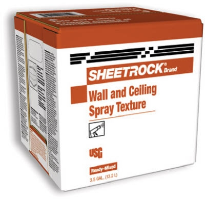 Sheetrock 3.5 Gallon Carton Spray Texture Wall & Ceiling