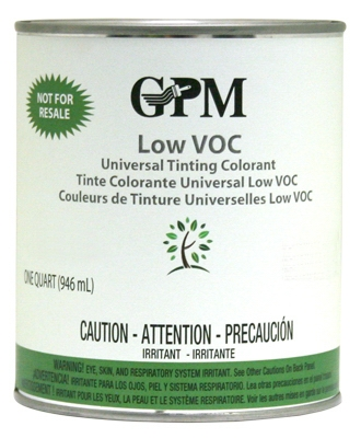 Tinting Colorant, Low VOC, Raw Umber, 1-Qt.