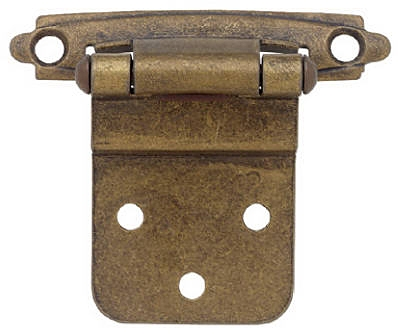 Antique Brass 2 x 3/4-In. Hinges, 2-Pk.