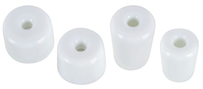 Doorstop Replacement Tip, White, 8-Pk.