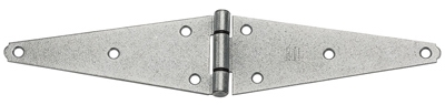 8-In. Galvanized Heavy Strap/Gate Hinge