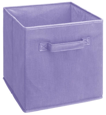 Light Purple Woven Fabric Drawer