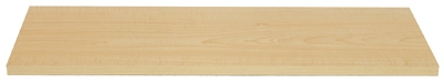Shelf, Simulated-Maple Melamine, 8 x 24-In., Must Purchase in Quantities of 5