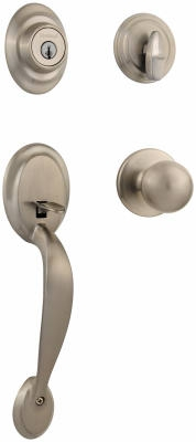 Satin Nickel Dakota Entry Handleset
