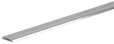 Flat Aluminum Bar, 1/8 x 1 x 48-In.