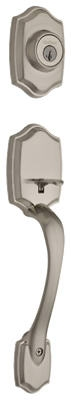 Belleview Entry Handleset, With SmartKey, Satin Nickel