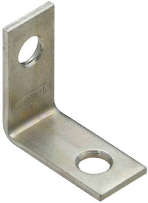 Corner Brace, Stainless Steel, 4 x 7/8-In.
