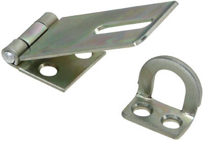 4.5-In. Stainless Steel Safety Hasp