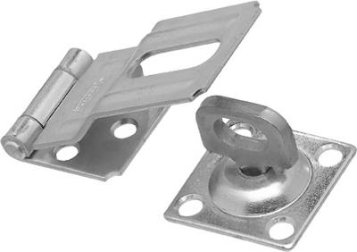 3.25-In. Stainless Steel Swivel Safety Hasp