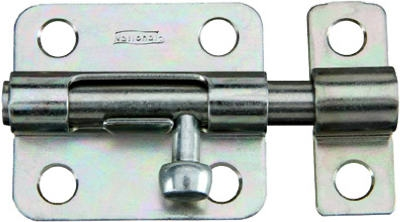Door Barrel Bolt, Stainless Steel, 2-1/2-In.