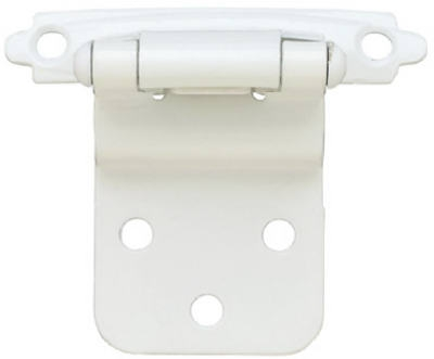 2-Pk.  2 x 3/4-In. White Hinges