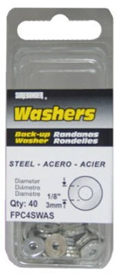 40-Pack 1/8-Inch Diameter Steel Washer