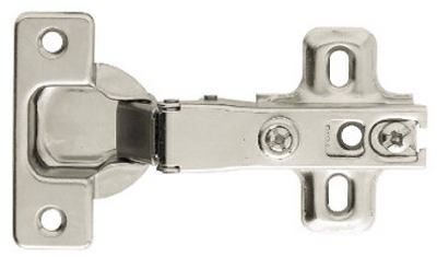 Nickel Plated Full Overlay Hinges, 2-Pk.