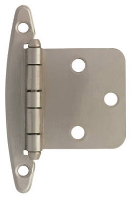 Satin Nicket Overlay Hinges, 2-Pk.