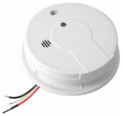 AC/DC Smoke Alarm Detectors With Hush, 6-Pack