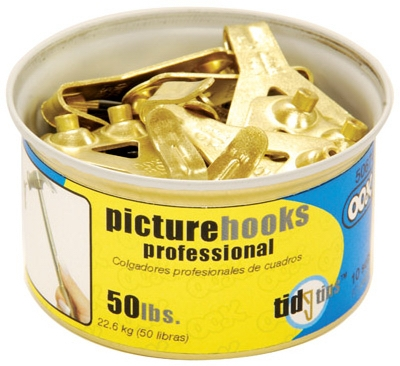 10PC 50LB Hook Tin