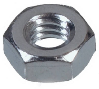 100-Pack 1/4-20 Hex Nuts