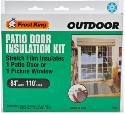 Outdoor Patio Door Insulation Kit, 84 x 110-In.