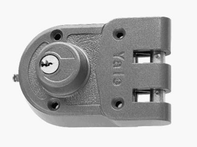 Jimmy-Proof Surface-Mounted Double-Cylinder Deadbolt