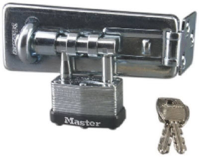 4.5-In. Warded Hasp Lock