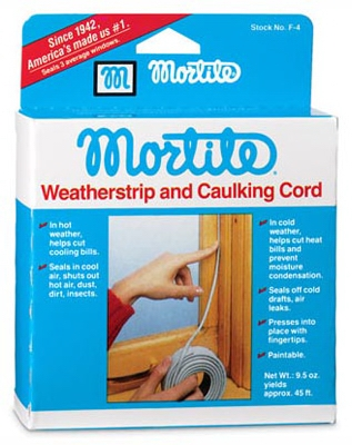 90-Ft. Gray Caulking Cord