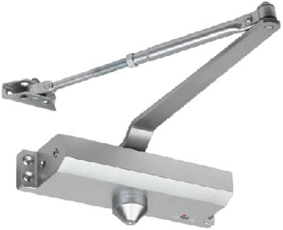 Aluminum Door Closer, Size 4, Grade 3