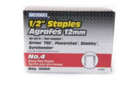 5000-Pack #4 Heavy-Duty 1/2-Inch Staple