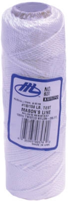 285-Ft. White Twisted Nylon Mason's Line