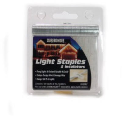 Surebonder Holiday Light Staple/Insulator