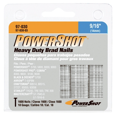 PowerShot 1600-Pack 9/16-Inch Heavy-Duty Nail