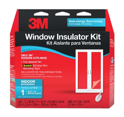 84 x 112-Inch Interior Patio Door Insulator Kit