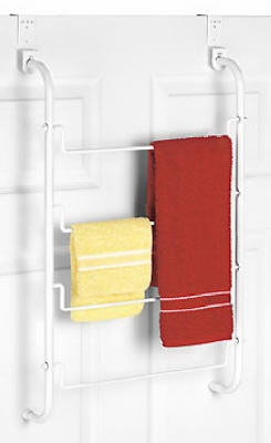 Over-The-Door 4 Tier Towel Rack