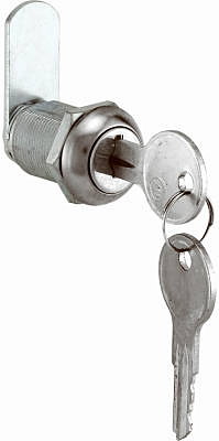 7/8-Inch Stainless Steel Drawer Lock
