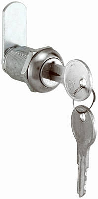 7/8-Inch Stainless Steel Drawer/ Cabinet Lock