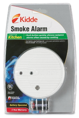 Premium Smoke Alarm with Hush & Test Button