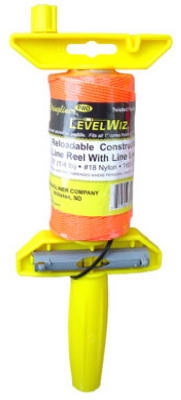 270-Ft. Twisted Fluorescent Orange Nylon LevelWiz Reel