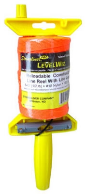 540-Ft. Twisted Fluorescent Orange Nylon LevelWiz Reel