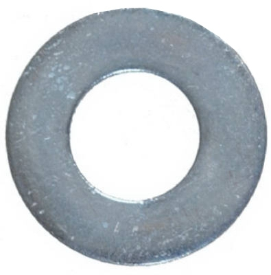 Galvanized Flat Washer, 0.375-In., 100-Pk.