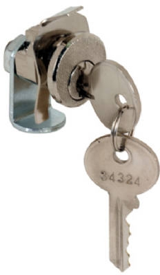 Mailbox Replacement Lock For Dura Steel With 2 Keys, Nickel Finish