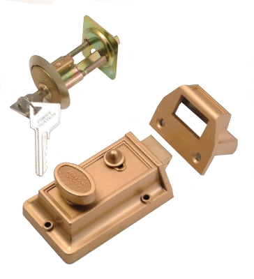 Satin Nickel Night Spring Latch
