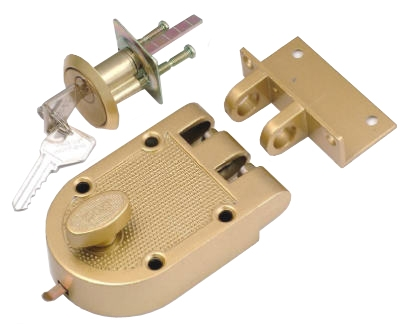 Single Cylinder Bolt Interlocking Deadbolt With Double Cylinder