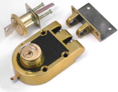 Double Cylinder Bolt Interlocking Deadbolt With Double Cylinder