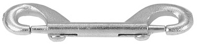 Bolt Snap, Zinc-Plated, 3-3/8 In.