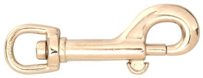 Bolt Snap, Bronze, 3/8-In.