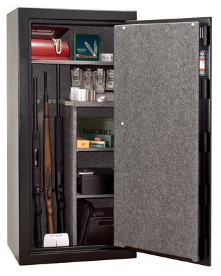 Revolution Gun Safe, Stores 24 Long Guns, Electronic Lock