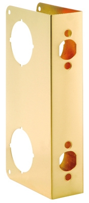 Door Reinforcer, Polished Brass