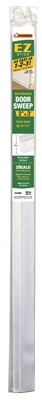 Door Sweep, Self-Sticking, White, 2-In. x 3-Ft.
